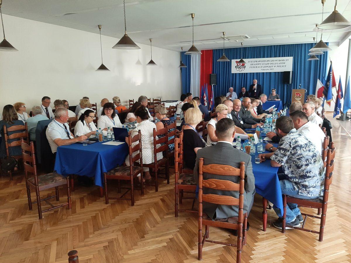XVII Krajowy Zjazd Sprawozdawczo-Wyborczy w Nałęczowie